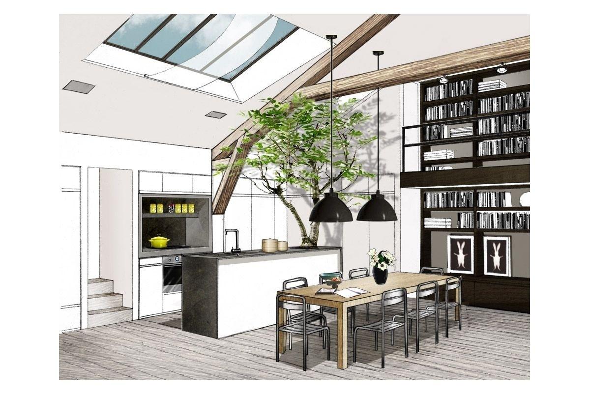 Appartement paris 9 double g maisons appartements - Cuisine architecte d interieur ...