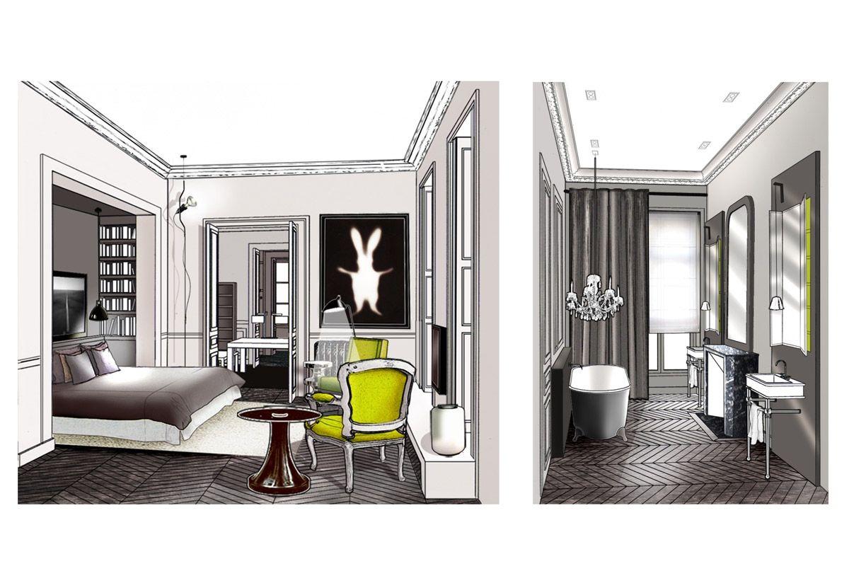 Appartement paris 9 double g appartements projets for Double g architecture