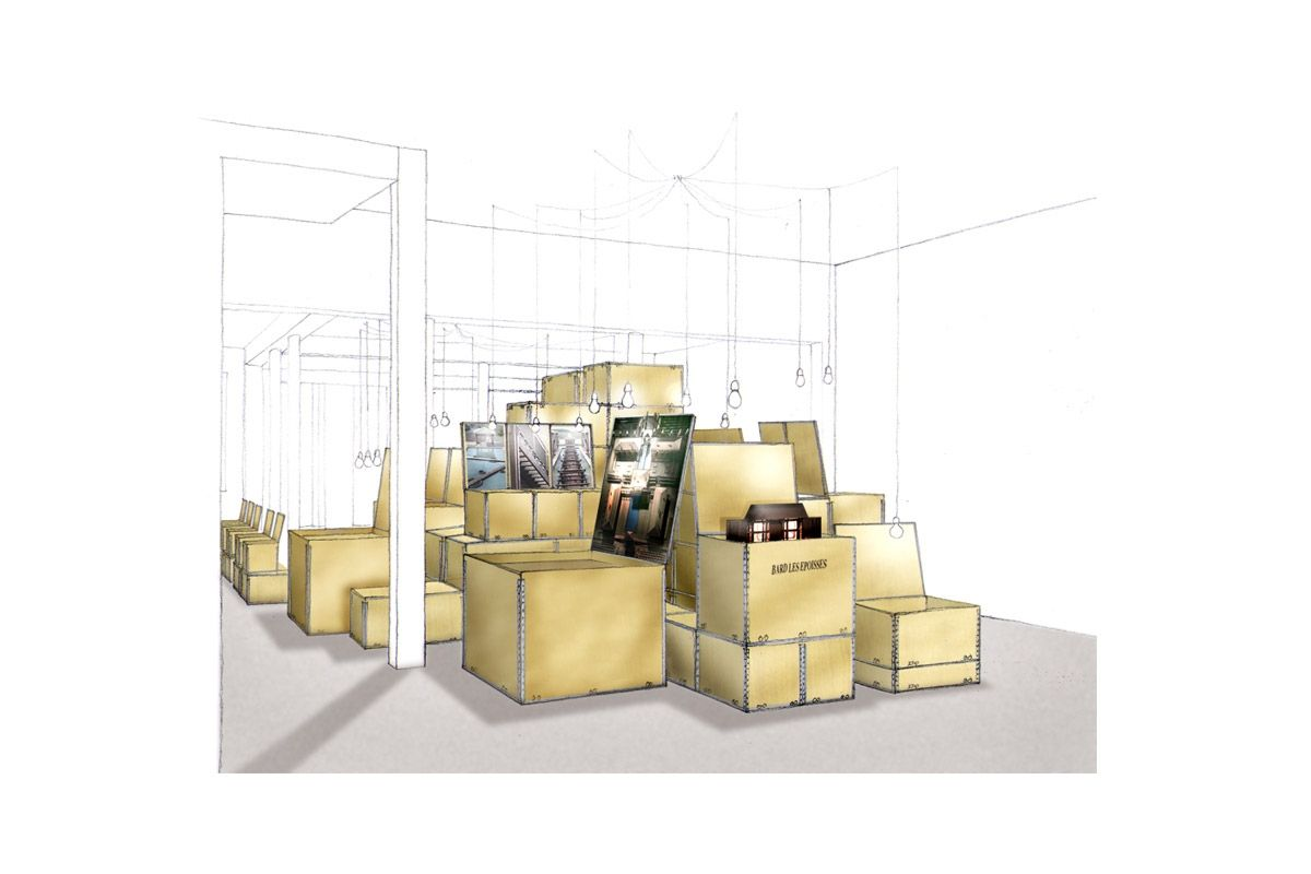 Galerie d 39 architecture sc nographie projets www for Double g architecture