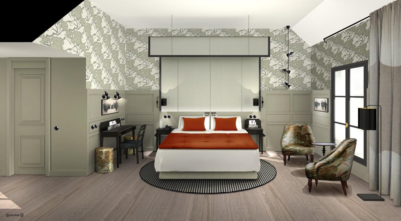 Petite Salle De Bain Chaleureuse ~ hotel aubusson h tels projets www doubleg fr