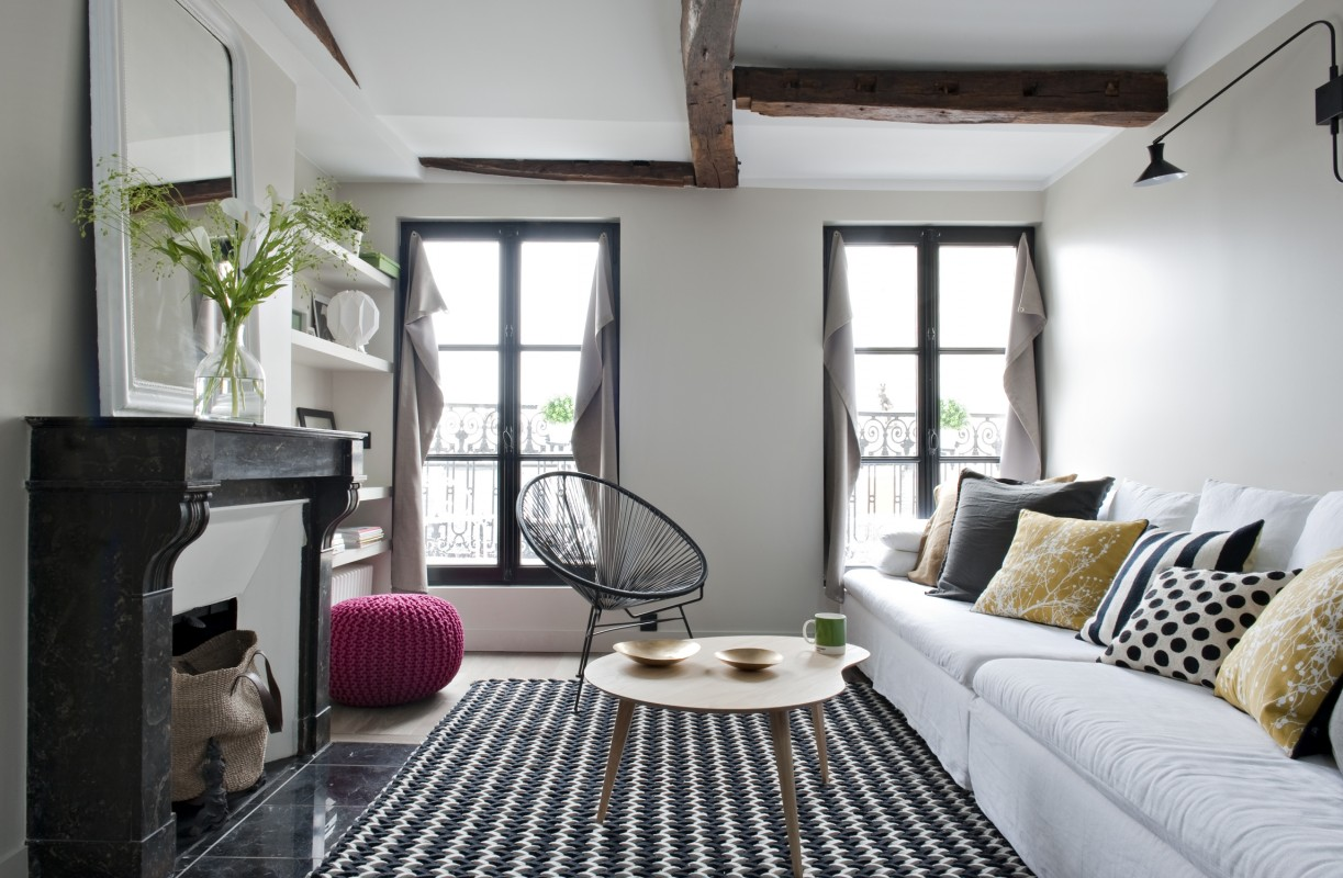 appartement paris 18 double g | petites surfaces | projets | www