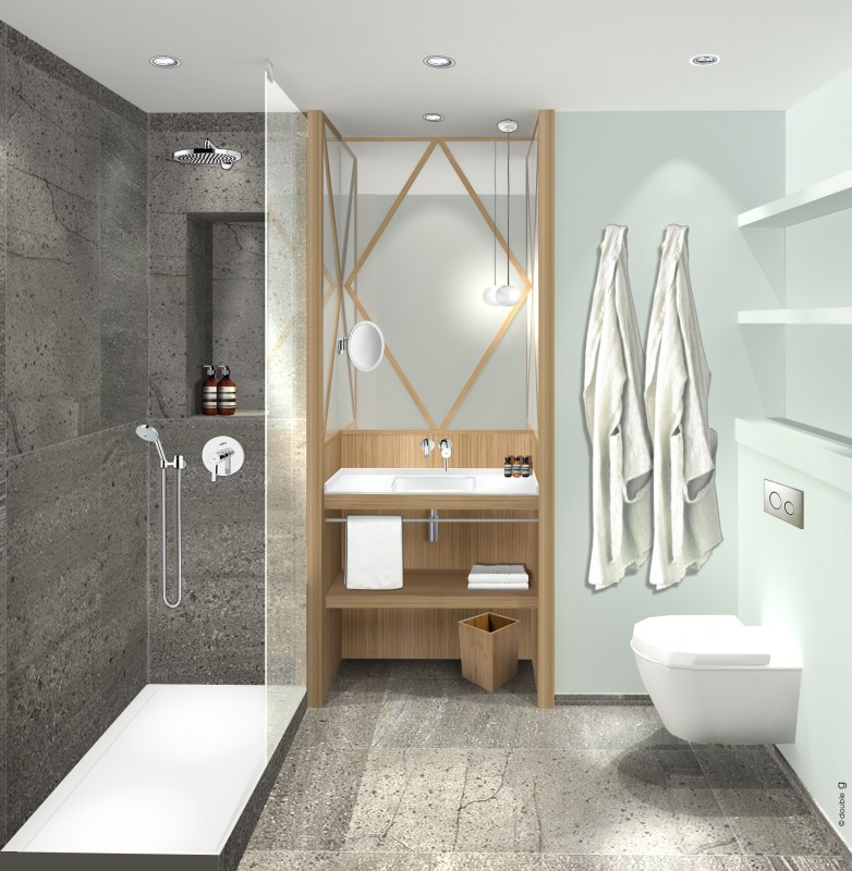 Hotel millesimes double g h tels projets for Double g architecture