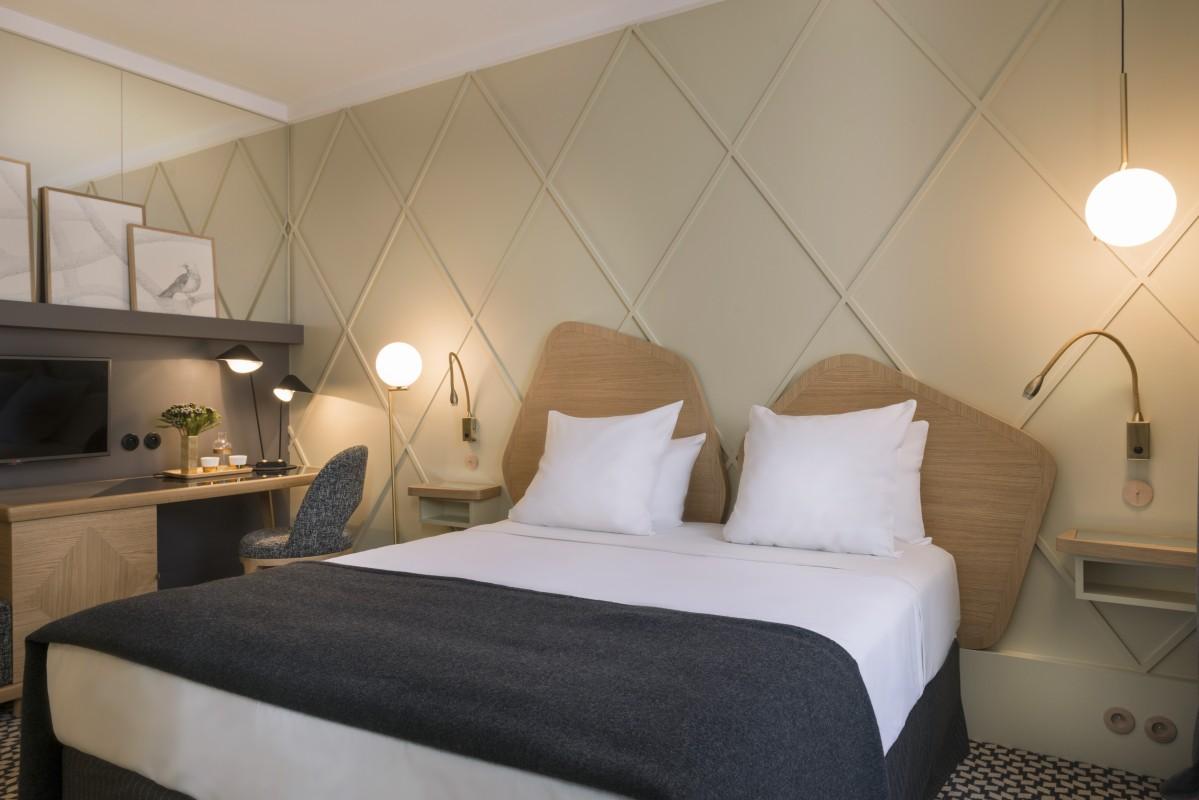 Hotel millesimes paris double g interior design hotels for Double g architecture