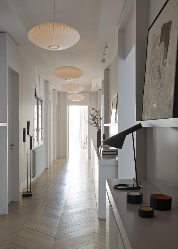 Appartement paris 7 double g maisons appartements projets - Meuble couloir etroit ...