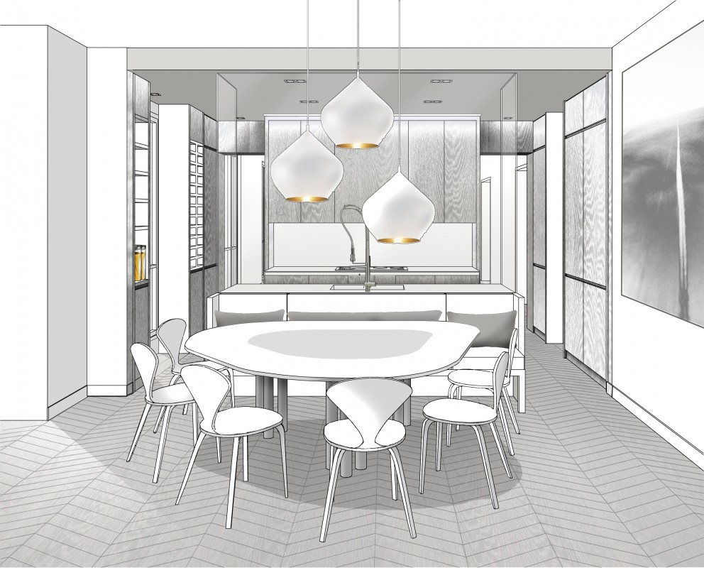 Appartement paris 7 double g appartements projets for Double g architecture
